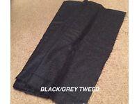 Black/Grey Tweed Made To Measure Kilt
