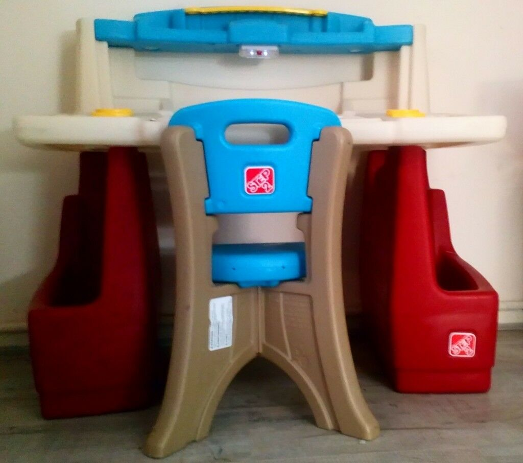 Step 2 Kids Childrens Deluxe Art Activity Desk Chair Similar To