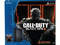 Ps4 with black ops
