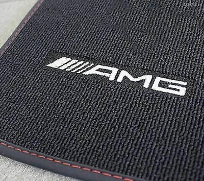 Mercedes Benz AMG Original 4-teilig Fußmatten GLA X156 LHD Schwarz/Rot Neu