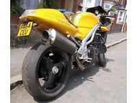 Triumph Daytona 595 995i 1997 Yellow