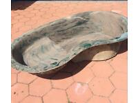 Pond (Atlantis fibre glass size: 1380mm x 800mm x 300mm)