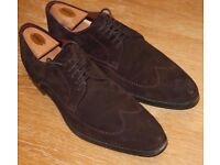 Design Loake shoes size 10 suede , good condition & Cedar Show Tree