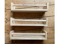Shelves x3 - spice racks