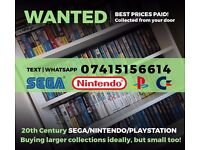WANTED : 20th Century Video Games & Toys (collections ideal)