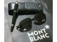 Mont Blanc Star Walker Pen Gift Set.