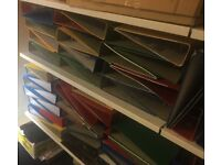 A4 Lever Arch Files/Folders