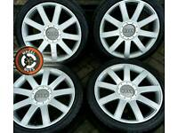 "18"" Genuine Audi RS4 5x112, excellent tyres."