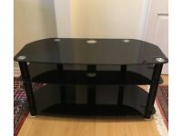 TV Stand 3-Tier Glass