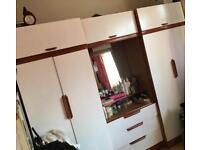 Free full wardrobe dressing table set