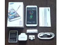 Samsung Galaxy Note 2 16GB SIM FREE UNLOCKED To All Networks in a Box with all the Accessories
