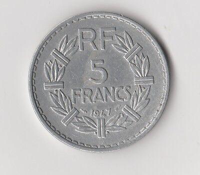 5 Francs  Frankreich   1947     (2236)