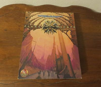 Planescape ~ Campaign Setting ~ TSR 2600 ~ Advanced Dungeons & Dragons