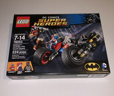 Lego BATMAN 76053 Gotham City Cycle Chase- New Sealed RETIRED Rare Hardly Quinn