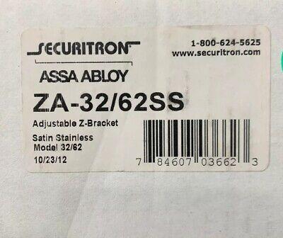 Securitron Magnalock Za-3262ss Za-3262 Mounting Bracket Mag Lock Stainless