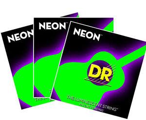 DR NEON ACOUSTIC GUITAR STRING MEDIUM LIGHT 12 54 COLOR #2: $ 35 JPG