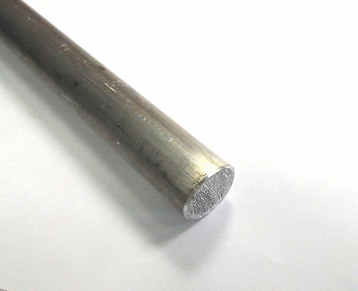 Aluminum 6061 T6511 Round Rod .375 38 Diameter X 5-38 Long