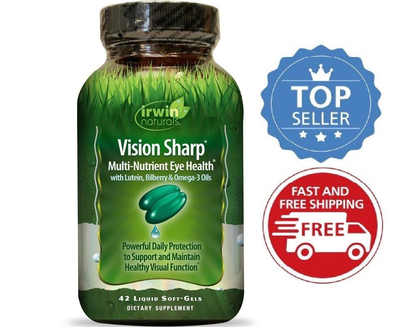 Irwin Naturals Vision Sharp, 42 Count