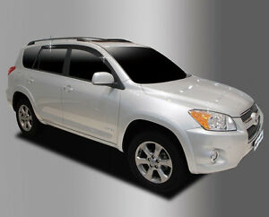 [USA] Brand New Side Window Vent Visor Rain Guards For Toyota RAV4 2006 - 2012