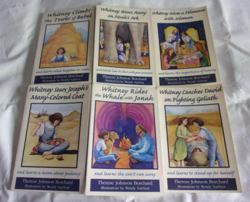 COMPLETE set of 6 The Emerald Bible Collction books: Whitney