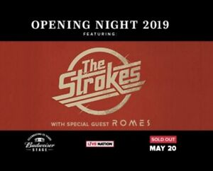 Selling 2 tickets to The Strokes - May 20
