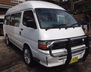 1997 Toyota Hiace Commuter Campervan Green Point Gosford Area Preview