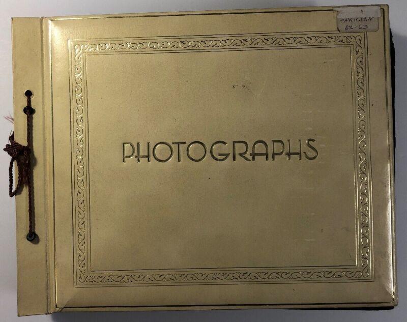 Photo Album World trip to Pakistan Fulbright Travel Grant 1963-64