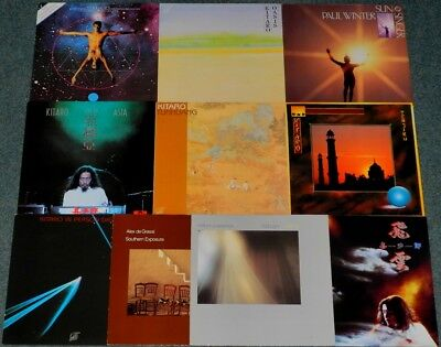 10 x NEW AGE / AMBIENT (KITARO/ PAUL WINTER/ W. ACKERMAN)**LP-SAMMLUNG 1 (01/18)