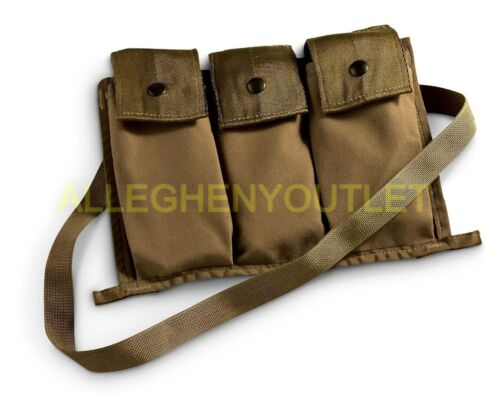 US Military 6 MAG MOLLE II Bandoleer Ammo Pouch M61A2 Coyote Brown NEW