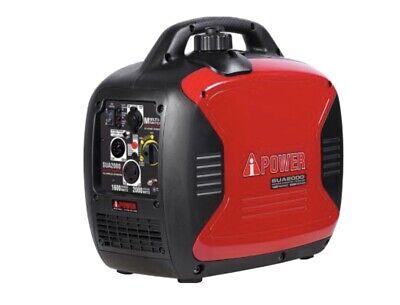 A-ipower Ultra Quiet Sua2000i 2000 Watt Gasoline Generator Inverter