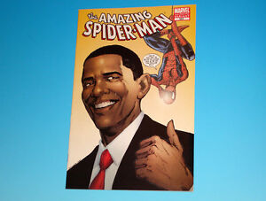 Amazing Spider-Man #583 Barack Obama Variant Marvel Comics 2nd Printing