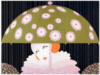 Artistic Decorative Art. 2063 Sad clown getting away animated quality POSTER