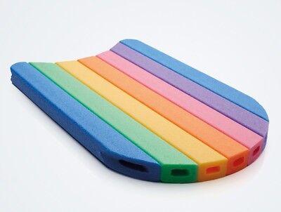 Schwimmbrett Comfy Kick Schwimmhilfe Kickboard in Regenbogenfarben