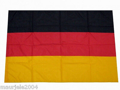 Bandiera Germania NUOVA 140x90 Germany Flag New Polyester FLAG DEUTSCHLAND NEU
