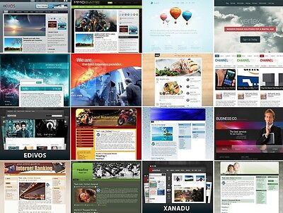 600  Wordpress Website Template Themes   Master Reseller Rights   Big Bonuses