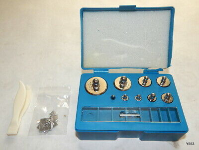 17 Piece Stainless Steel Calibration Weight Scale Set