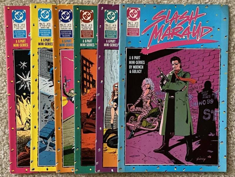 SLASH MARAUD SIX PART MINISERIES DC COMICS ISSUES #1 - 6 - 1988 FREE SHIP
