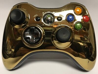 Xbox 360: Chrome Gold Controller for sale  Lafayette