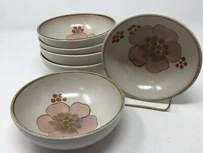 6 Denby Pottery Gypsy Fruit Dessert Bowl NO SIGNS OF USE