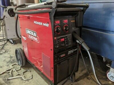 Lincoln 350mp Multiprocess Welder Used