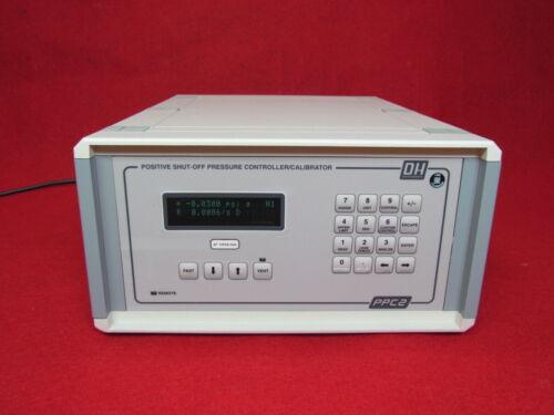 DH Instruments PPC2 +AF POSTIVE SHUT_OFF PRESSURE CONTROLLER / CALIBRATOR