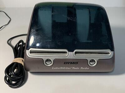 Dymo Labelwriter Twin Turbo Model 93085 Label Printer Wout Power Adapter