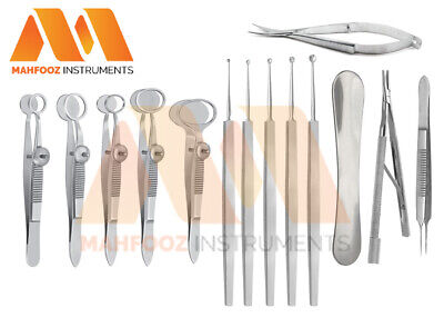 Chalazion Surgery Set Ophthalmic Surgical Instruments New