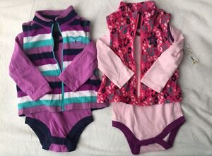 BNWT 6-piece mix n match baby girls outfits size 0 Werrington Penrith Area Preview