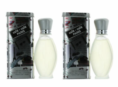 Cafe Pour Homme by Cafe Parfums for Men Combo Pack: EDT Spray 3.4oz (2x 1.7oz)
