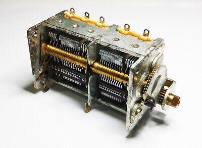 Tuning Gear Variable Capacitor 10 - 740pf Homebrew Ham Loop Tuner Crystal Radio