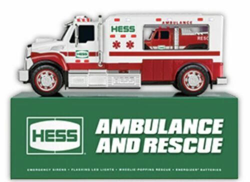 2020 Hess Toy Truck AMBULANCE and RESCUE Brand New In Stock
