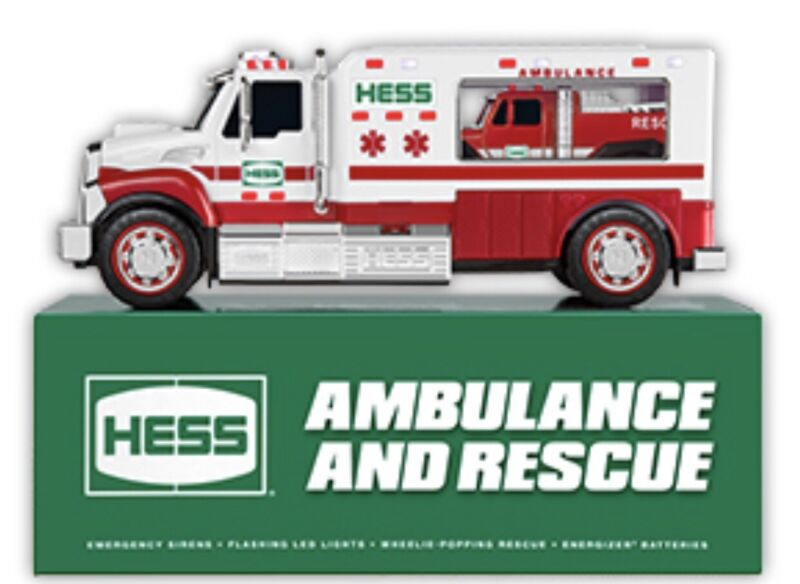 2020 Hess Toy Truck AMBULANCE and RESCUE Brand New PRE-Order