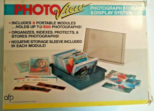 Photo View Photograph Storage & Display System