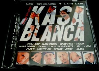 Occasion, KASSA BLANCA/LOONEY TOON,PLAN B, SPEEDY, ZION & LENNOX, MASTER JOE , DJ BLASS-CD d'occasion  Expédié en Belgium
